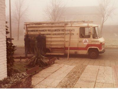 Alubec bestelwagen 1985